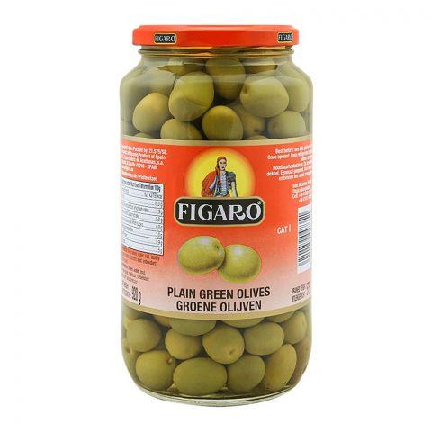 Figaro Plain Green Olives, 920g