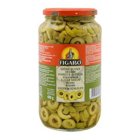 Figaro Sliced Green Olives, 920g