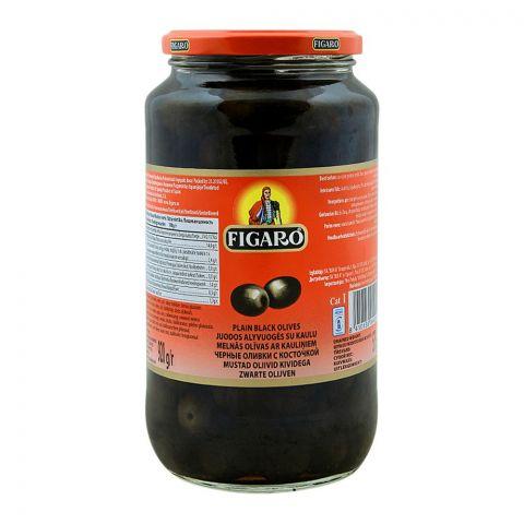 Figaro Plain Black Olives, 920g