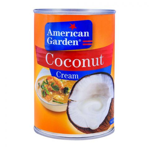 American Garden Coconut Cream 400ml