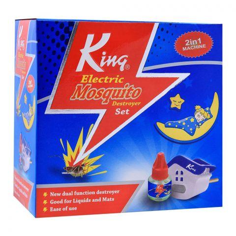King 2-In-1 Electric Mosquito Destroyer Set