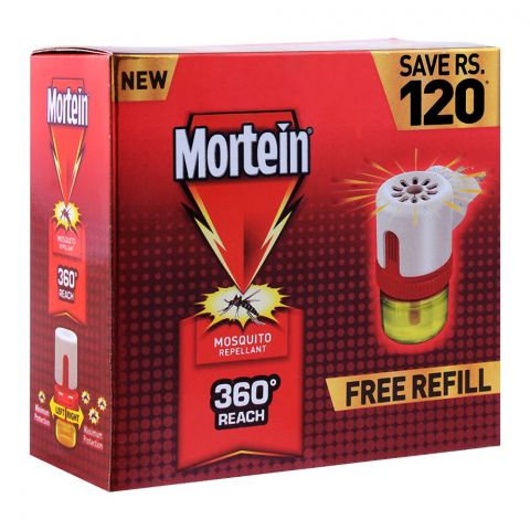 Mortein Liquid Mosquito Repellant Machine With Refill, Save Rs. 120