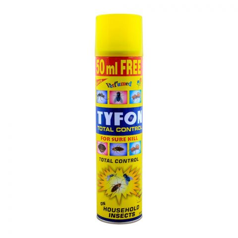 Tyfon Total Control Yellow Household Insect Killer, 400ml
