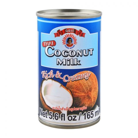 Suree Thai Coconut Milk, Rich & Creamym 165ml