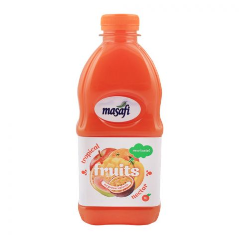 Masafi Tropical Fruit Nectar, Bottle, 1 Liter