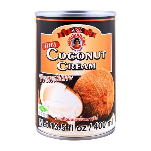 Suree Premium Thai Coconut Cream, 400ml