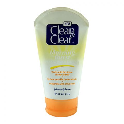 Clean & Clear Morning Burst In Shower Facial, 114g