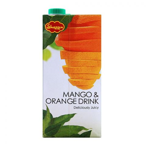 Shezan Mango & Orange Fruit Drink, 1 Liter