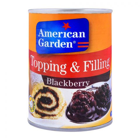 American Garden Blackberry Topping & Filling 595g
