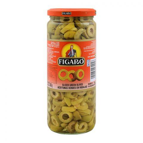 Figaro Sliced Green Olives, 450g