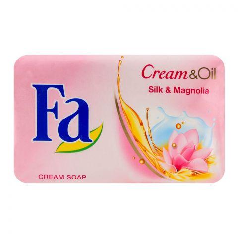 Fa Cream & Oil Silk & Magnolia Soap 175gm