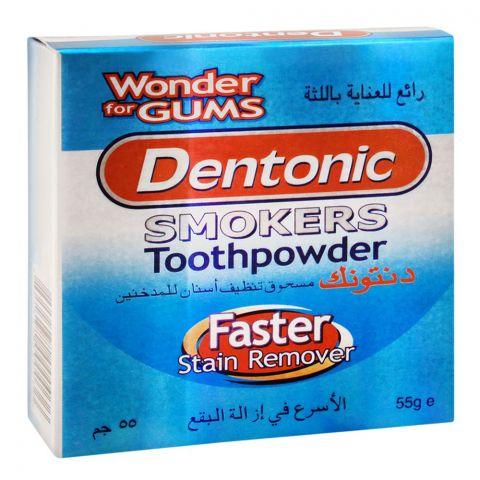 Dentonic Smokers Toothpowder, 55g