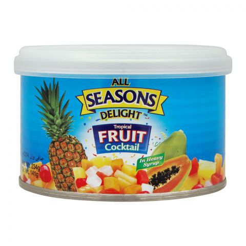 Seasons Delight Tropical Fruit Cocktail, Tin, 234g
