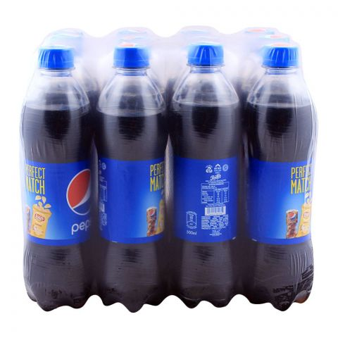 Pepsi Pet Bottle 500ml,Pieces 12 Pieces