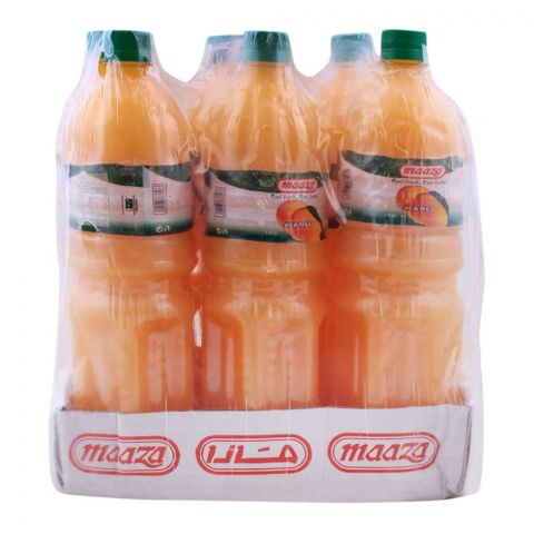 Maaza Mango Juice 1.5ltr Bottle, 6 Pieces