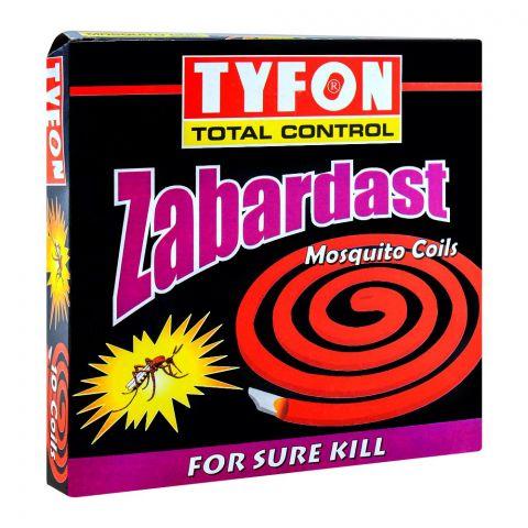 Tyfon Zabardat Mosquito Coil, 10 Coils