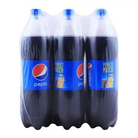 Pepsi 1.5 Liters, 6 Pieces