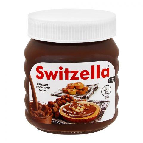 Switzella Hazelnut Spread With Cocoa, 350g