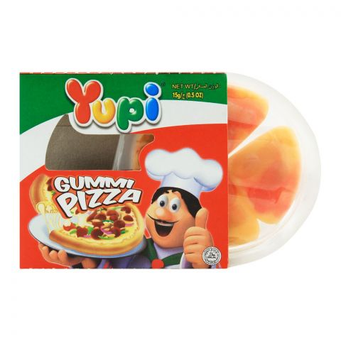Yupi Gummi Pizza Jelly, 1 Piece, 15g
