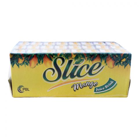 Slice Mango Juice 200ml Tetra Pack, 24 Pieces