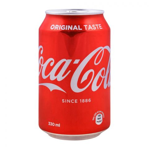 Coca Cola Can (Local) 330ml