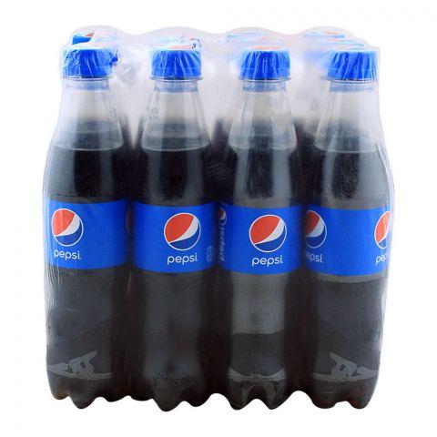 Pepsi Pet Bottle 345ml, 12 Pieces