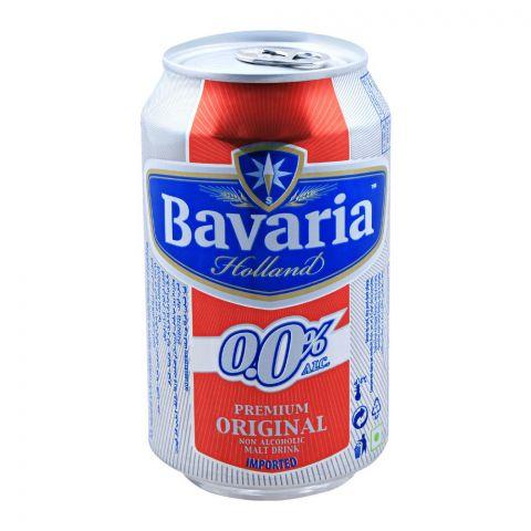 Bavaria Premium Original Non Alcoholic Malt Drink, Can, 330ml
