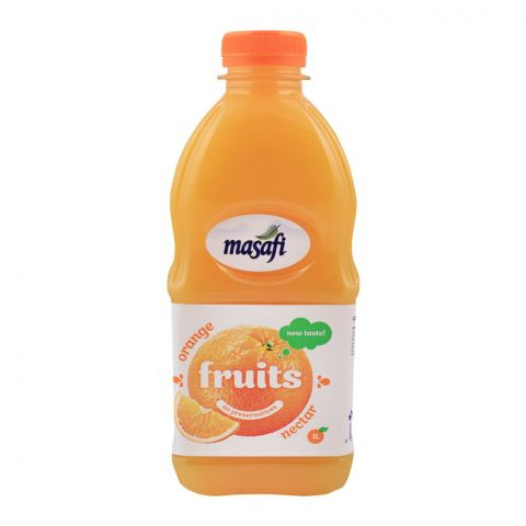 Masafi Orange Nectar, Bottle, 1 Liter