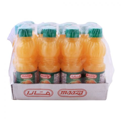 Maaza Mango Juice Bottle 250ml, 12 Pieces