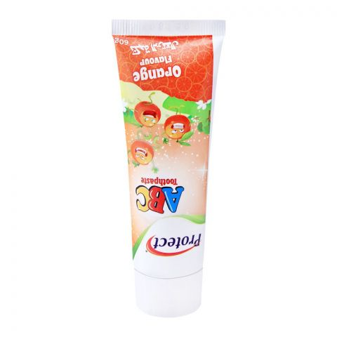 Protect ABC Toothpaste, Orange Flavour, 60g