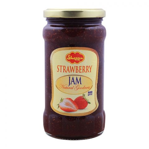 Shezan Strawberry Jam, 440g