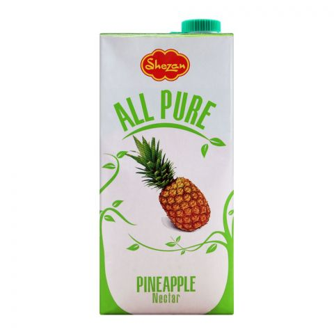 Shezan All Pure Pineapple Fruit Nectar, 1 Liter