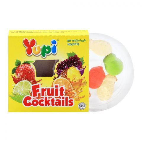 Yupi Fruit Cocktails Jelly, 1 Piece, 15g
