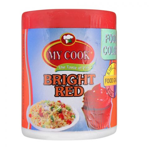 My Cook Bright Red Food Colour, 25g