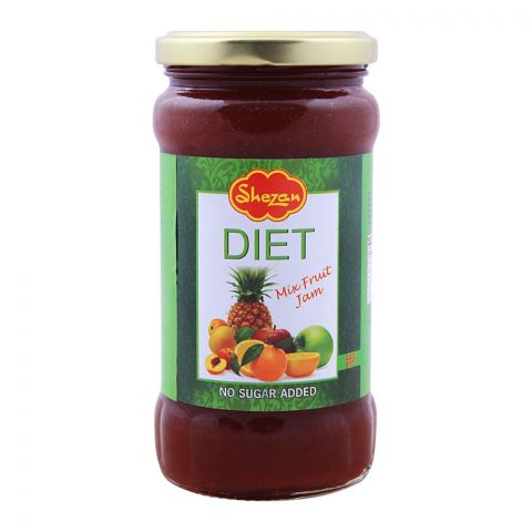 Shezan Diet Mixed Fruit Jam, 440g