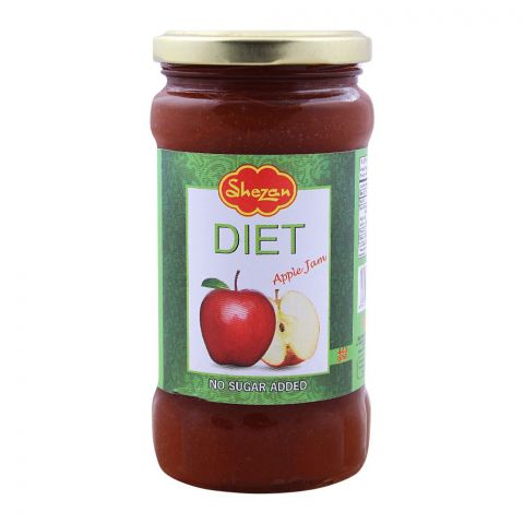 Shezan Diet Apple Jam, 440g