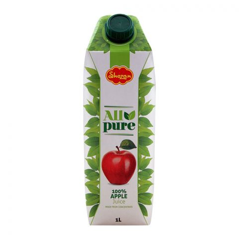 Shezan All Pure 100% Apple Juice, 1 Liter