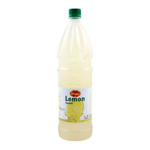 Shezan Lemon Squash, 1.5 Liters