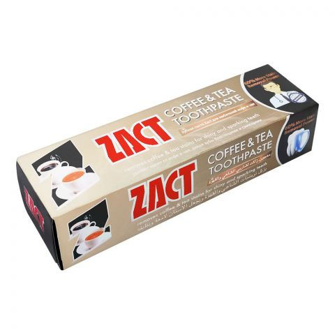 ZACT Coffee & Tea Toothpaste, 150g