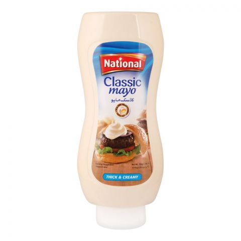 National Classic Mayonnaise Squeezy, 700g