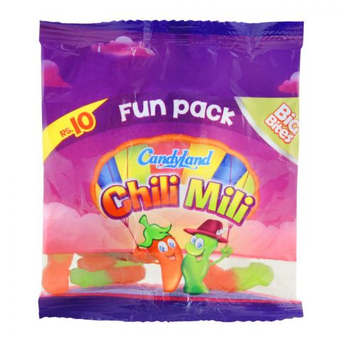 Candyland Chili Mili Jelly, Fun Pack 20g