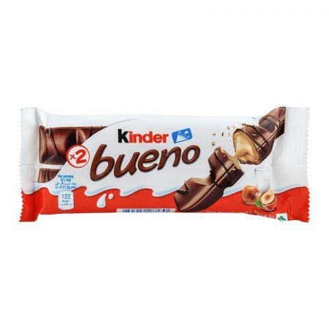 Kinder Bueno Chocolate, X2, 43g