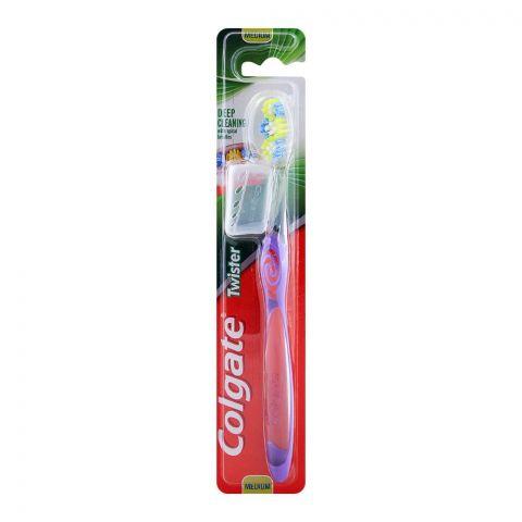 Colgate Twister Deep Cleaning Medium Toothbrush