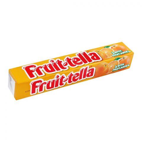 Fruit-Tella Chewy Candy, Orange, 32.4g