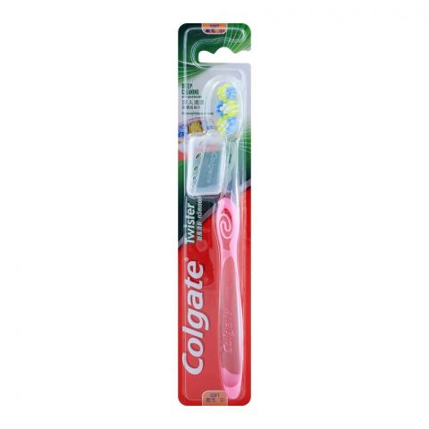 Colgate Twister Deep Cleaning Soft Toothbrush