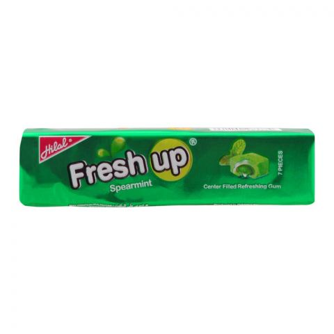 Hilal Freshup Spearmint Bubble Gum, 26.g