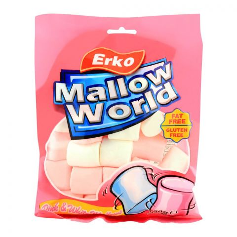 Erko Mallow World Pink & White, 150g