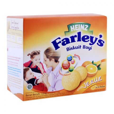 Farley's Rusk Orange 120g