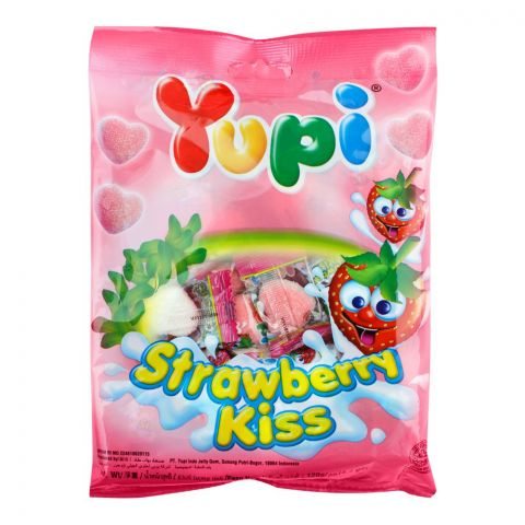 Yupi Strawberry Kiss Gummy, 120g