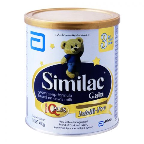 Similac Gain No. 3, Growing-Up Formula, 400g